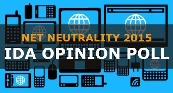 IDA Net Neutrality Survey 2015