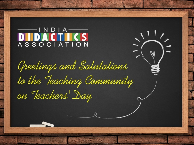 Greetings and Salutations to the Teaching Community on Teachers' Day