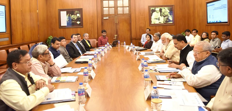 The Prime Minister, Shri Narendra Modi chairing the meeting of Governing Council of the National Skill Development Mission, in New Delhi on June 02, 2016.