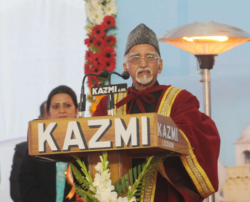 The Vice President, Shri Mohd. Hamid Ansari addressing at the Annual Convocation of the University of Lucknow, in Lucknow, Uttar Pradesh Uttar Pradesh on January 09, 2014.