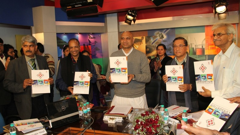 The Union Minister for Human Resource Development, Dr. M.M. Pallam Raju launches e-content courseware on seven undergraduate subjects, in New Delhi on January 28, 2014.