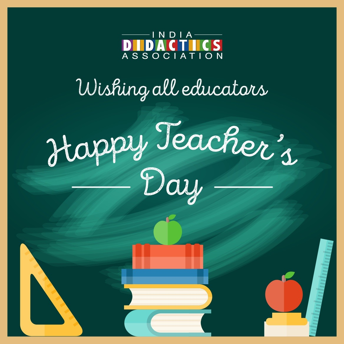 Happy Teachers Day - India Didactics Asscociation
